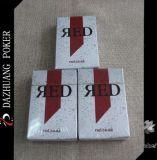 Оптовые изготовленный на заказ красные играя карточки