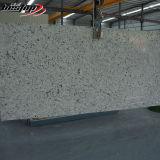 Слябы камня кварца вены падуба белые искусственние искусственные каменные мраморный