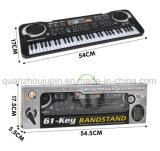 OEM Toetsenbord van de Piano van de Kinderen van Jonge geitjes het Multifunctionele Muzikale Elektronische met Microfoon