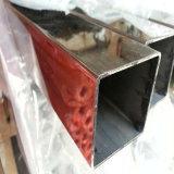 tubo quadrato saldato 304/304L dell'acciaio inossidabile