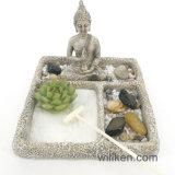 Decorazione nuova del giardino di zen del quadrato di stile tradizionale di disegno
