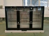Supermaket direkte abkühlende Unterstrich-Kühlvorrichtung, 3 Glas Tür-oberste elektrische Bier-Rückseiten-Stab-Gegenkühlvorrichtung