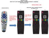 À télécommande pour le programme d'universel de TÉLÉVISEUR LCD