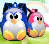 Мешки школы детсада Menino Escolar Mochila мешка школы Backpack 3D детей для рюкзака пингвина девушок малого ягнятся мешок