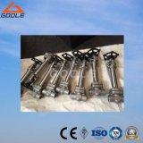 Компактная стальная криогенная запорная заслонка (GADZ61H)
