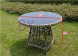 حديقة خارجيّ [أوبسكل] مريحة وقت فراغ [ب] [رتّن] طاولة وكرسي تثبيت