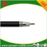 Коаксиальный кабель RG6 Bc проводник ПВХ куртка с техническим вазелином (наводнения)