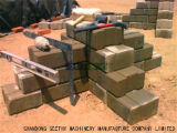 Machine van het Blok van het Cement van de Klei van Kenia van de Machine van de Baksteen van Hydraform de Met elkaar verbindende M7mi Mobiele