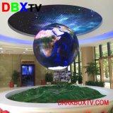 Visualizzazione di LED dell'interno del centro commerciale dello schermo di prezzi del cinematografo HD di Epistar P3 buona