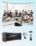 Bekanntmachendes magnetisches Bildschirmanzeige-Zahnstange Aluminiumkurbelgehäuse-Belüftung knallen oben Ausstellung-Stand