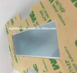 Clear LCD de relieve plano gráfico de la ventana de interruptor de membrana