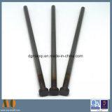 Las piezas del molde expulsor de la norma DIN 1530 Polo negro con la cabeza Tratamiento