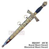 手動模造ヨーロッパの騎士短剣のヨーロッパの短剣の歴史的短剣40cm