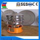 La circulaire en acier inoxydable rond grille vibrante de poudre et de granules RA1000
