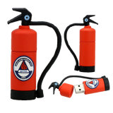 Modelo real do extintor de incêndio da movimentação da pena da capacidade de 100%