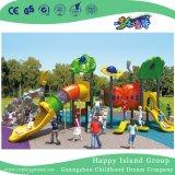 Grande campo da giuoco d'acciaio galvanizzato esterno della brezza di mare con i bambini che arrampicano insieme (HG-10101)