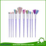 Cepillo oval del maquillaje del estilo del cepillo de dientes de la alta calidad