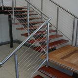 La moderna el pasamanos de acero inoxidable pasamanos de Cable balcón/ para la venta de escaleras