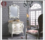Meubles de chambre à coucher Cabinet de salle de bains sanitaire en bois massif (B8057)