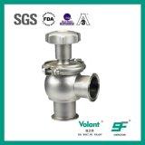 Tipo manual válvula de la bola del acero inoxidable de control de flujo
