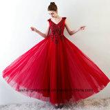 Платье венчания сексуальной сатинировки V-Шеи эластичной прозрачное
