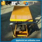 hidráulicos móveis manuais da mão 500kg Scissor a tabela de levantamento Ptd500A por atacado
