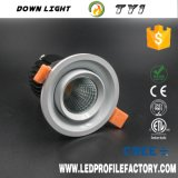 표면에 의하여 거치되는 LED Downlight, LED Downlight IP54, 7W LED Downlight