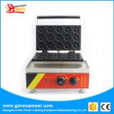 15 PCS Manual em aço inoxidável Dount Comercial máquina de fazer Mini Donut Maker