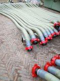 Flexibilidade industrial de grande diâmetro do tubo flexível de borracha