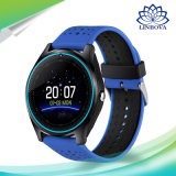 カメラのBluetoothの健康のスポーツのクロック時間の腕時計SIMのカードSmartwatchが付いているスマートな腕時計V9