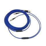 Односторонняя G652D бронированные оптоволоконного кабеля с ПВХ Оболочки
