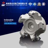 Indexable Face Milling Tool for CNC Lathe Machining