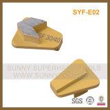 Chaussure de meulage concrète de diamant de blocage de Redi pour la rectifieuse de Scanmaskin