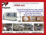 Tampa material do copo dos PP que dá forma à máquina Ppbg-500