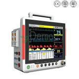 Geduldige Monitor van de Parameter van de Levensteken van het ziekenhuis de Medische Draagbare Hart Multi