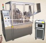 El tubo de llenado automático de la pomada de sellado de la máquina con sistema de calefacción interior