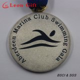Medalha feita sob encomenda da concessão dos esportes da raça do metal da lembrança para a competição