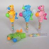Miniventilator-Spielzeug-Süßigkeit in den Spielwaren mit Süßigkeit spielt (131110)