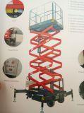 Plataforma de trabajo de la antena de tijera autopropulsada