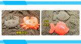 Les enfants compressibles branchent le jouet en plastique de plage de Pitshop à l'outil manuel