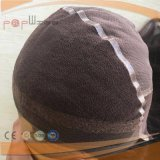 レースベースすべての人間の毛髪の調節可能な帽子のかつら(PPG-l-0808)