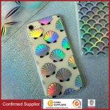 Caixa de galvanização do telefone do projeto do teste padrão colorido luxuoso para o iPhone X