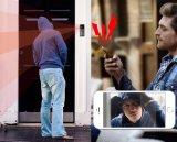 Cámara androide del CCTV del timbre del intercomunicador de WiFi del iPhone video sin hilos impermeable del timbre