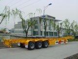 3 반 차축 40FT 공용품 화물 컨테이너 수송 트레일러 트럭 트레일러