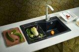 Горячая продажа Undermount искусственного кварца камень кухня бассейнов
