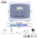 ZusatzHandy-Signal-Verstärker des G-/MWCDMA 2g 3G Doppelbandmobiles Signal-900/2100MHz