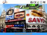 Colore completo P5 che fa pubblicità alla video visualizzazione esterna del LED per la strada trasversale e costruire