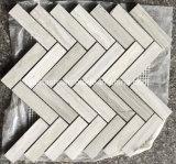 Mosaico di pietra di marmo poco costoso della stanza da bagno per le mattonelle parete/del pavimento
