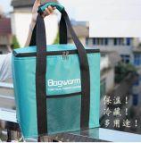 La entrega de los restaurantes de alto grado de gran comida picnic bolsa de nylon enfriador