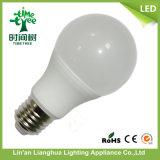 A60 de aluminio de 7W Bombilla de luz LED de plástico de PBT Aprobación Inmetro